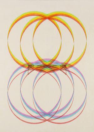 Circle Vibration The Big Brackets 《圓振蕩大括號》 by Inga Svala Thórsdóttir & Wu Shanzhuan contemporary artwork painting