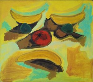 Fruit Face by Layla Rudneva-Mackay contemporary artwork