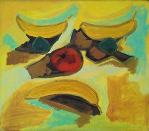 Fruit Face by Layla Rudneva-Mackay contemporary artwork