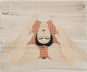 Back Bend 2 by Hayv Kahraman contemporary artwork