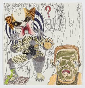 Predator by Shintaro Miyake contemporary artwork