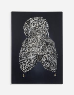 Pliss 2021/II by Mona Ardeleanu contemporary artwork