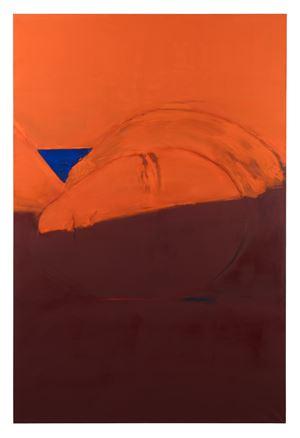 À l'heure où le soleil déborde de tous les coins du ciel by Christine Safa contemporary artwork