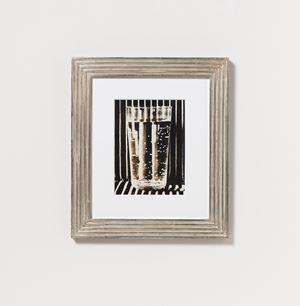 Glas auf Wellpappe by Elfriede Stegemeyer contemporary artwork