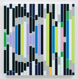 Culture Resounds [Sound Graph] by Sarah Morris contemporary artwork