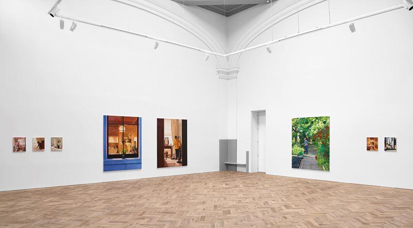 Exhibition view: Caroline Walker, Janet, Ingleby Gallery, Edinburgh (3 October–19 December 2020). Courtesy the Artist and Ingleby Gallery, Edinburgh.Photo: John McKenzie.