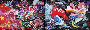 2017 by Yoshitaka Amano contemporary artwork
