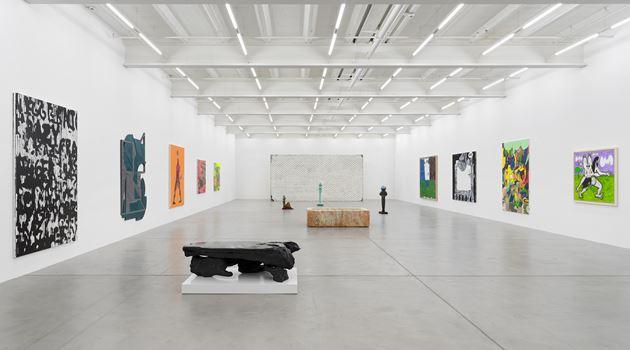 Galerie Eva Presenhuber contemporary art gallery in Maag Areal, Zürich, Zurich, Switzerland