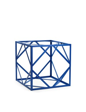 Blue Cube by Rasheed Araeen contemporary artwork