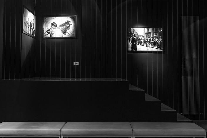 Exhibition view: Letizia Battaglia, Roberto Timperi, Mafia, dolore, amore, Galerija Fotografija, Ljubjana (7 October–30 October 2019). Courtesy Galerija Fotografija.
