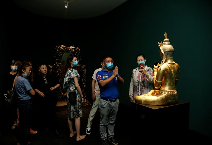 Exhibition view: Lí Wei, Fairy Tale, Tang Contemporary, Beijing (5 September–18 October 2020). Courtesy Tang Contemporary Art, Beijing.