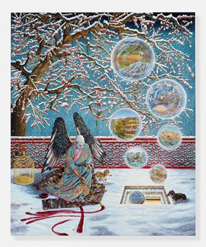 Allegory of Memories through Monozukuri by Raqib Shaw contemporary artwork