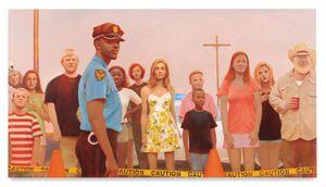 Crowd Scene by Bo Bartlett contemporary artwork