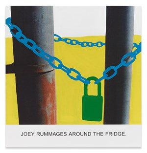 Joey Rummages Around... by John Baldessari contemporary artwork