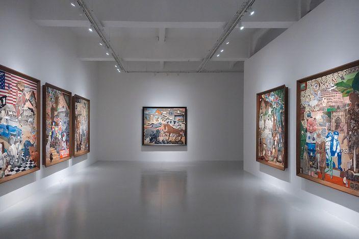 Exhibition view: Kawayan de Guia, Future Fiction, Yavuz Gallery, Singapore (8 May–6 June 2021). Courtesy Yavuz Gallery.