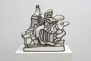 Amoncellement à la Corne by Jean Dubuffet contemporary artwork