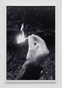 Match fire #1 (The Modernist) by Catherine Opie contemporary artwork photography