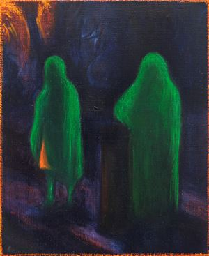 Cloaks by William Bennett contemporary artwork