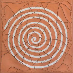 Espiral [Spiral] by Adriana Varejão contemporary artwork