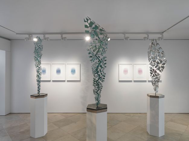 Exhibition view:Conrad Shawcross, The Measures of Change, Victoria Miro, Venice (19 May–10 July 2021). © Conrad Shawcross. Courtesy the artist and Victoria Miro.