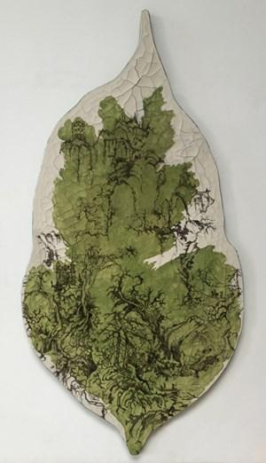 Paisagem sino-brasileira com verde by Adriana Varejão contemporary artwork