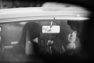 While in traffic. Johannesburg, 1967 by David Goldblatt contemporary artwork photography