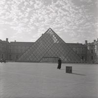 The Louvre by Carrie Mae Weems contemporary artwork photography