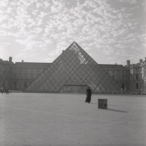 The Louvre by Carrie Mae Weems contemporary artwork