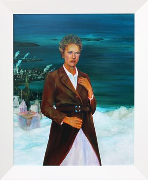 The Resurrection of Rosa Luxemburg by John Walsh contemporary artwork