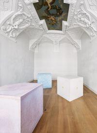 Cubes by Ian Hamilton Finlay contemporary artwork sculpture