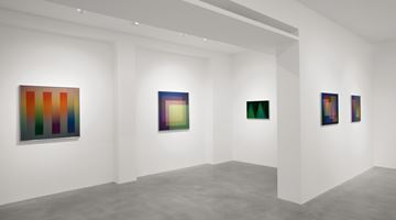 Contemporary art exhibition, Carlos Cruz-Diez, Colore come evento di spazi at Dep Art Gallery, Milan