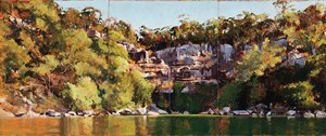 Refuge Bay by A.J. Taylor contemporary artwork