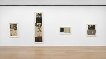 Contemporary art exhibition, Jockum Nordström, The Anchor Hits the Sand at David Zwirner, London