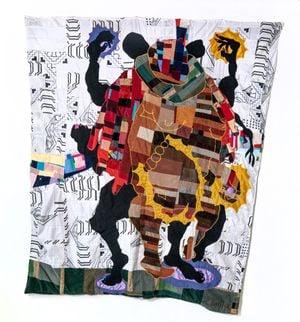 Order My Steps by Basil Kincaid contemporary artwork