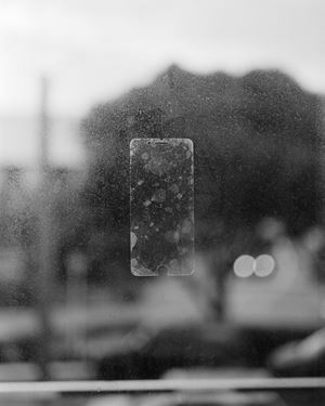 Untitled (screen protector), Wellington, New Zealand by Harry Culy contemporary artwork