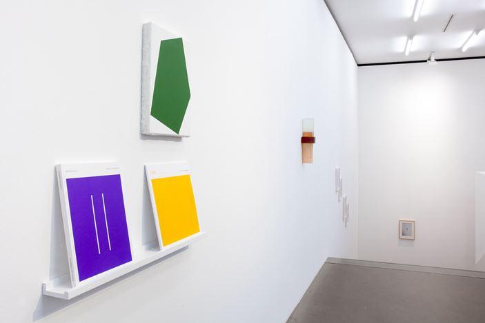 Exhibition view: Group Exhibition,Gifts for you, Galerie EIGEN + ART, Berlin (5 December–19 December 2019). CourtesyGalerie EIGEN + ART.Photo: Otto Felber.