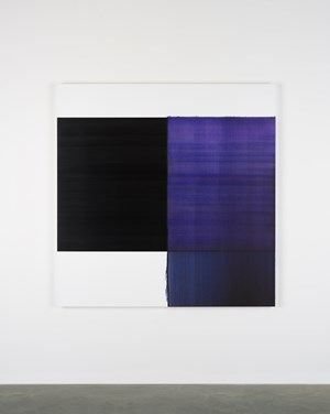 Exposed Painting by Callum Innes contemporary artwork