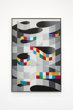 Screen Test / Ok Computer by Alex Dordoy contemporary artwork
