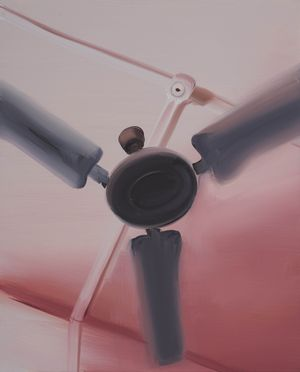 Climate Control (Red) by Tala Madani contemporary artwork