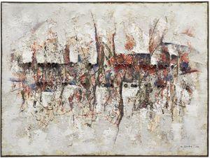 SAKUHIN II by Minoru Onoda contemporary artwork painting, works on paper