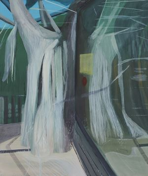 Sans titre (Jardins obscurs #12) by Marc Desgrandchamps contemporary artwork