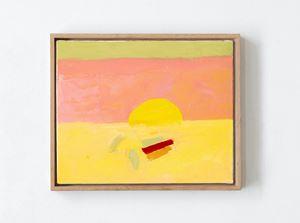 Horizon 4 by Etel Adnan contemporary artwork