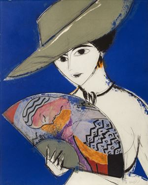 Pamela III by Manolo Valdés contemporary artwork