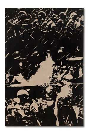 Stop 10 by Peter Kennard contemporary artwork