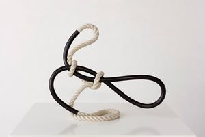 Standing Form (hooped) by Ricky Swallow contemporary artwork