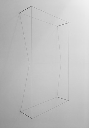 Line Sculpture (cuboid #17) by Jong Oh contemporary artwork