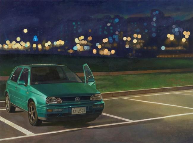 밤 안개낀 밤 by Dongwook Suh contemporary artwork