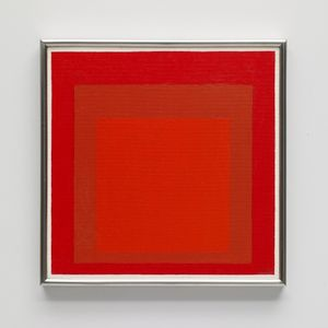 Study for Homage to the Square: Wet and Dry by Josef Albers contemporary artwork painting