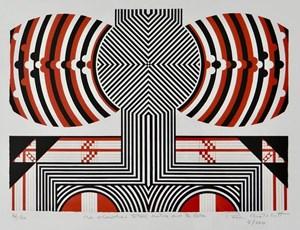 Me Whawhai Tatoa Katoa Mo Te Ora by Paratene Matchitt contemporary artwork