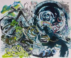 500 Brushstrokes #59 五百笔 #59 by Wu Jian'an contemporary artwork